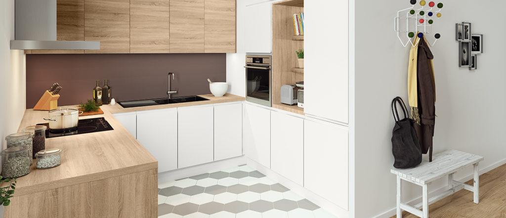 Combiner des façades blanche et bois pour un look intemporel