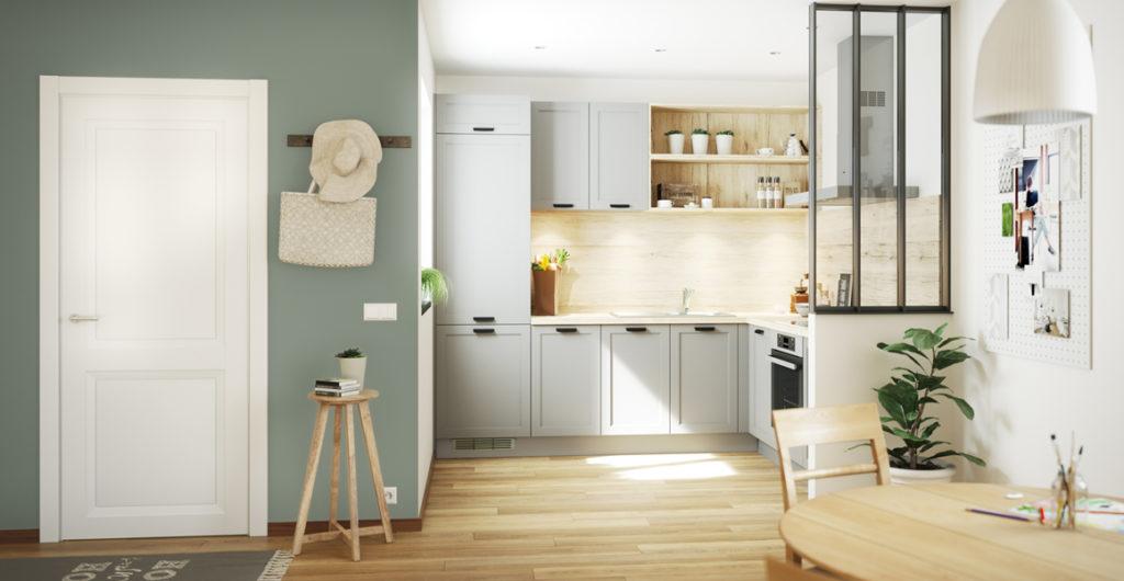 Hauteur meubles petites cuisines