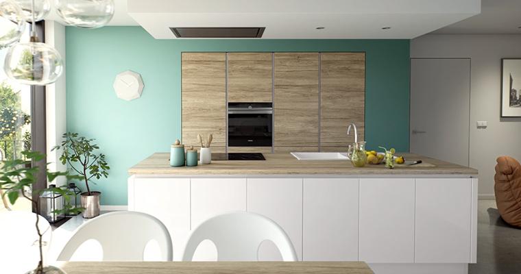 Un îlot multifonction pour la cuisine  de vos rêves. Pratique et esthétique