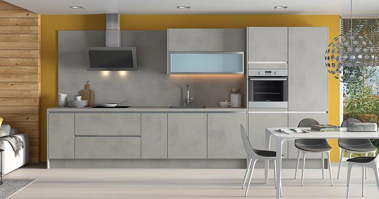mixez les couleurs et les matières pour la cuisine de vos rêves